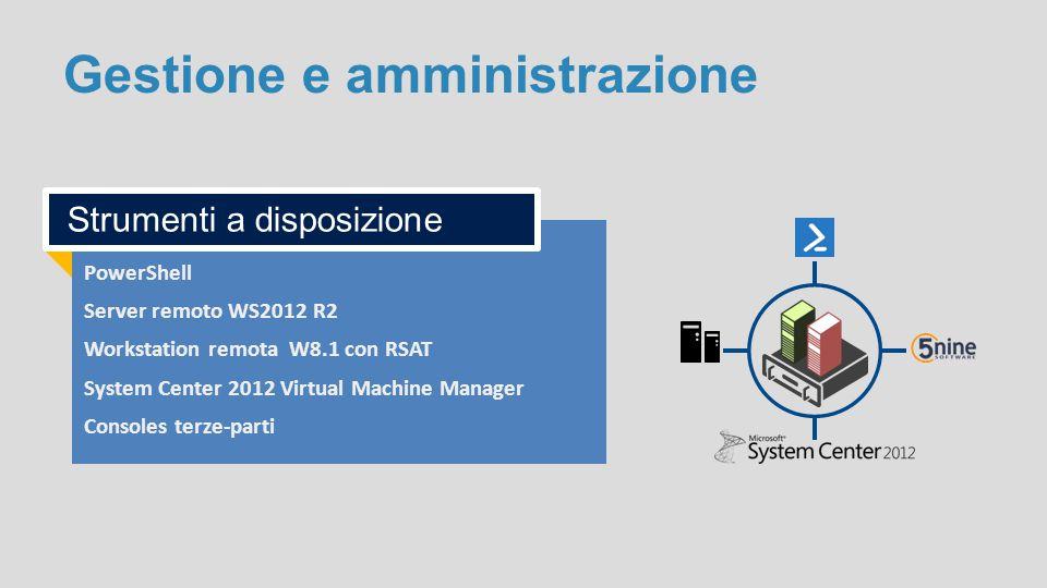 Gestione e amministrazione