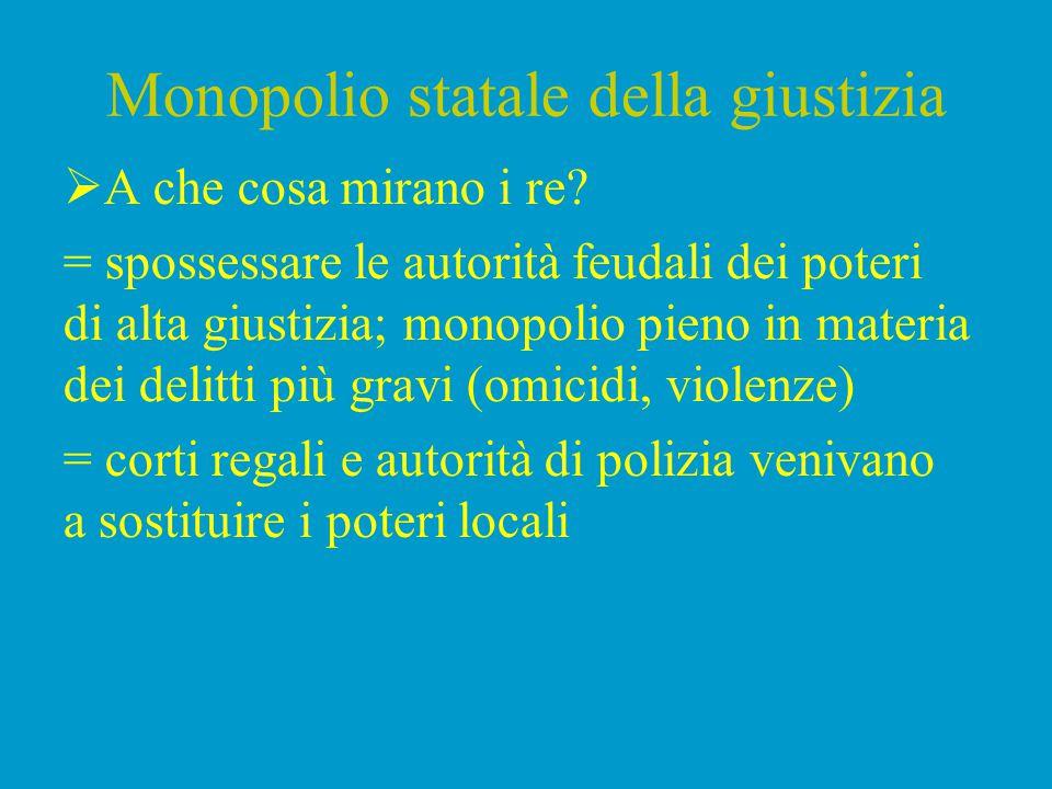 Monopolio statale della giustizia