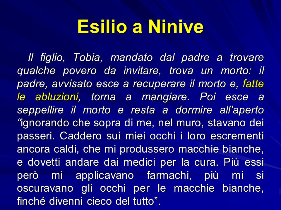 Esilio a Ninive