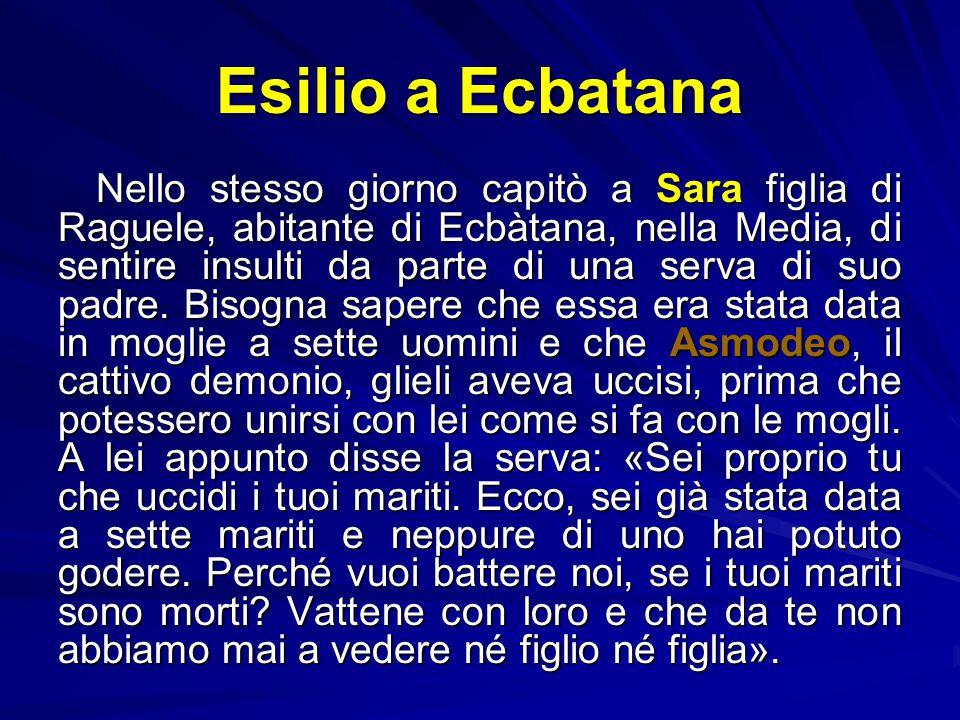 Esilio a Ecbatana
