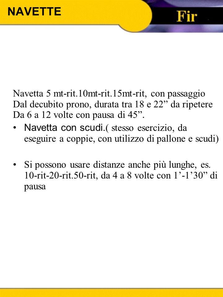 NAVETTE Navetta 5 mt-rit.10mt-rit.15mt-rit, con passaggio