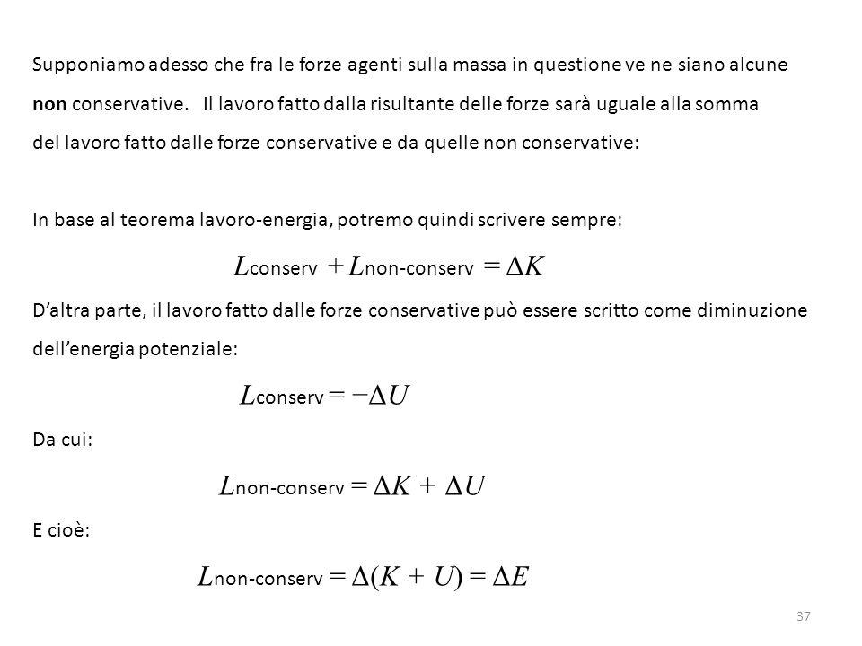 Lconserv + Lnon-conserv = ΔK