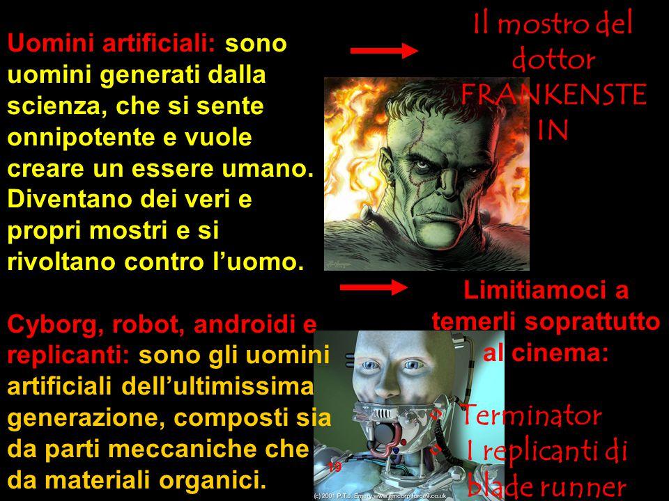Il mostro del dottor FRANKENSTEIN