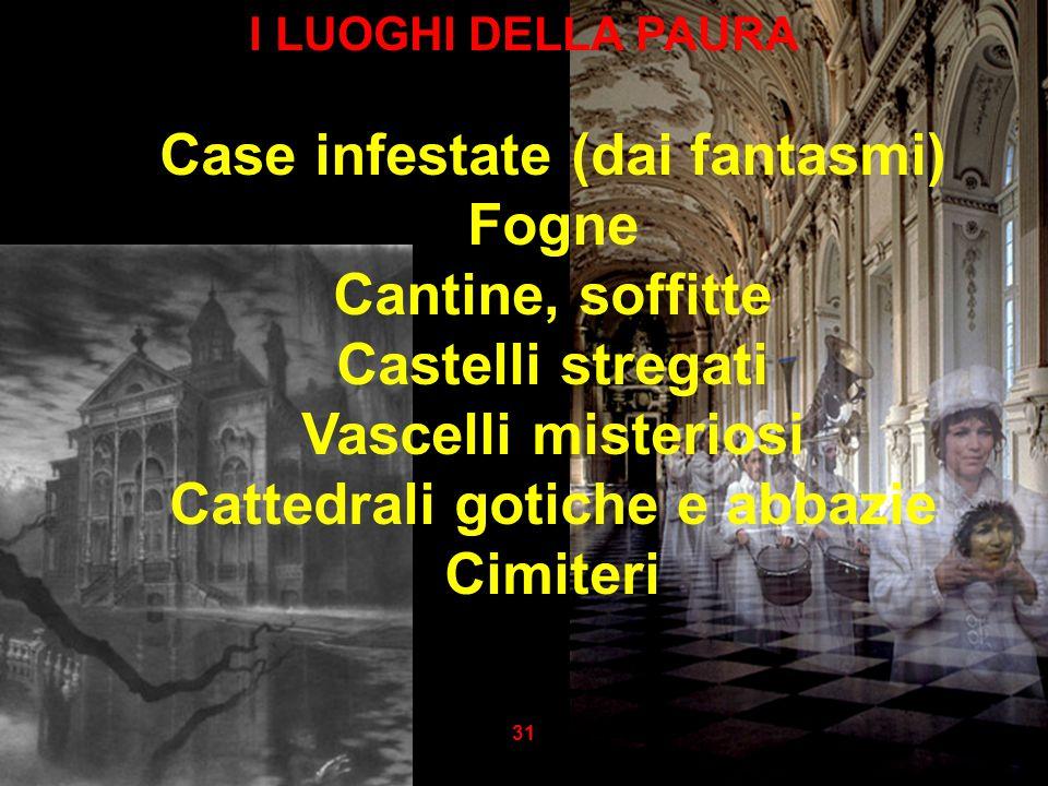 Case infestate (dai fantasmi) Cattedrali gotiche e abbazie