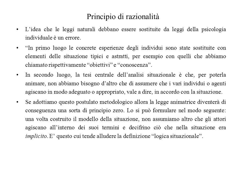Principio di razionalità