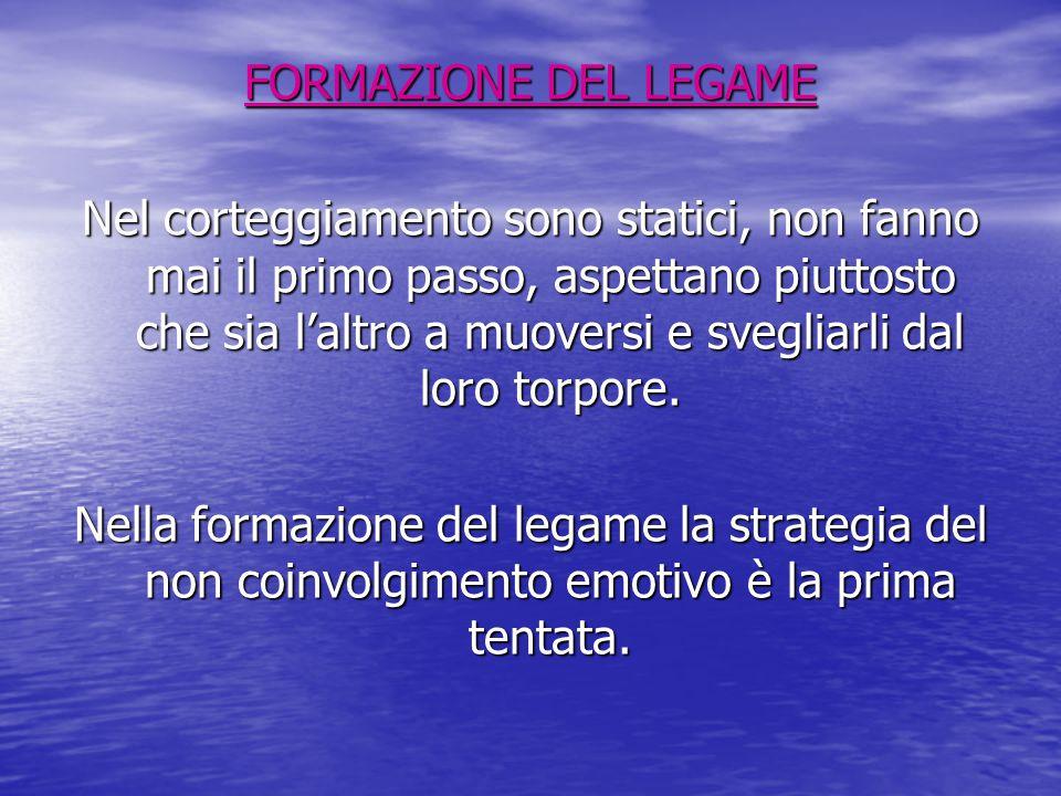 FORMAZIONE DEL LEGAME