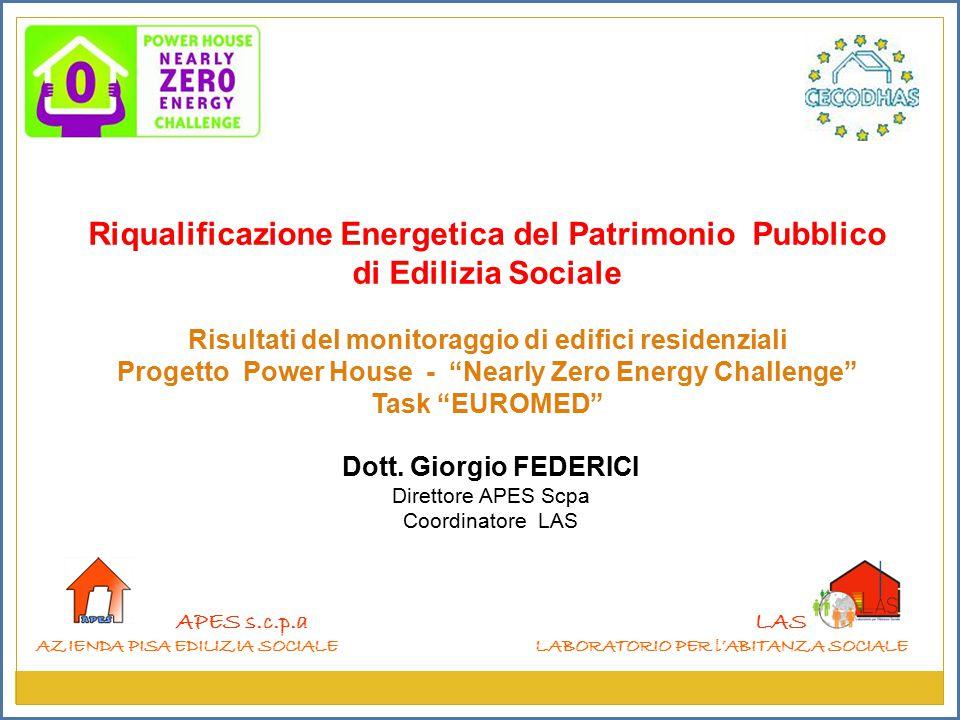 Riqualificazione Energetica del Patrimonio Pubblico di Edilizia Sociale