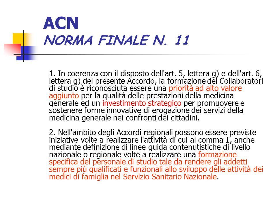 ACN NORMA FINALE N. 11