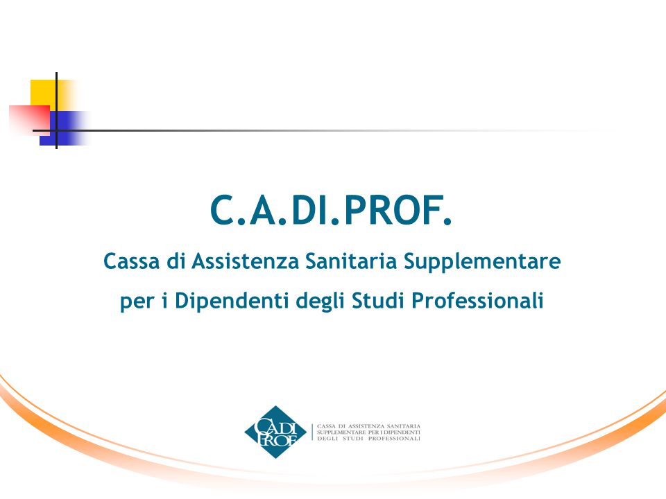 C.A.DI.PROF. Cassa di Assistenza Sanitaria Supplementare