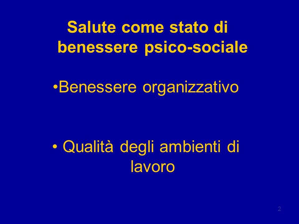 benessere psico-sociale