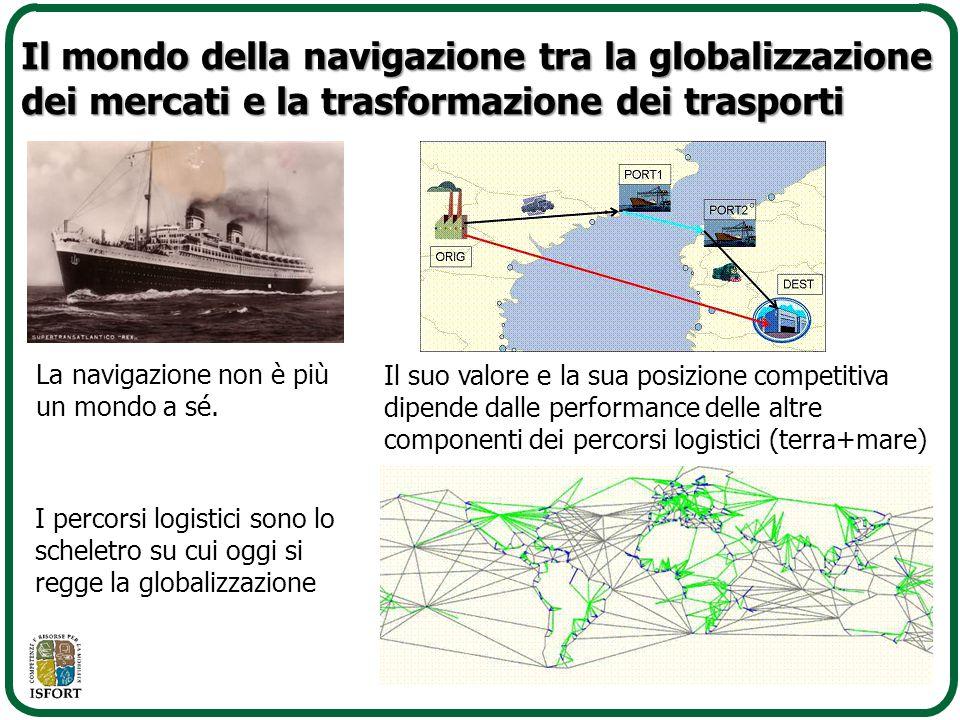 Il mondo della navigazione tra la globalizzazione dei mercati e la trasformazione dei trasporti
