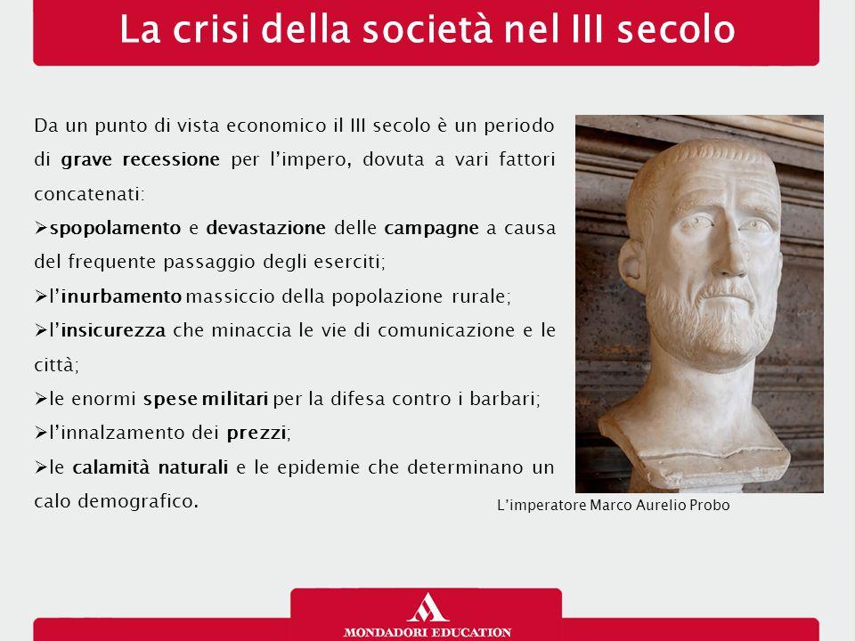 La crisi della società nel III secolo