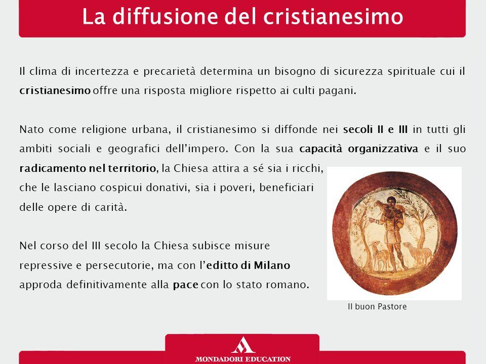 La diffusione del cristianesimo