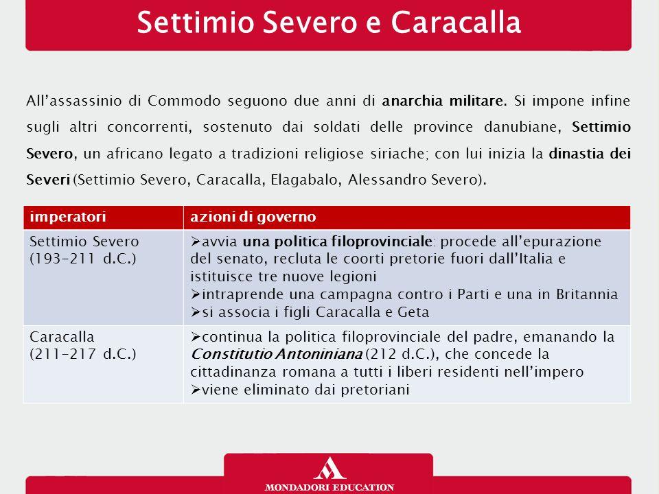 Settimio Severo e Caracalla