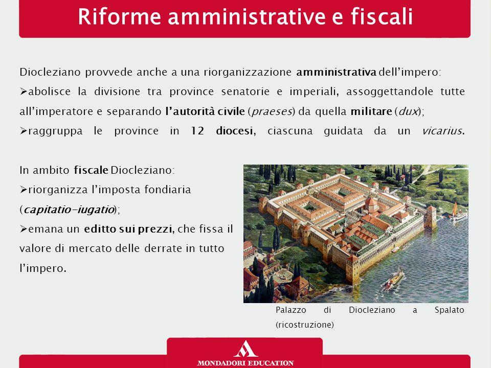 Riforme amministrative e fiscali