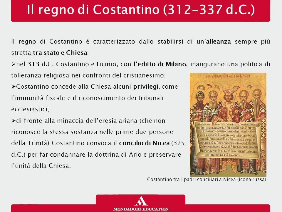 Il regno di Costantino (312-337 d.C.)