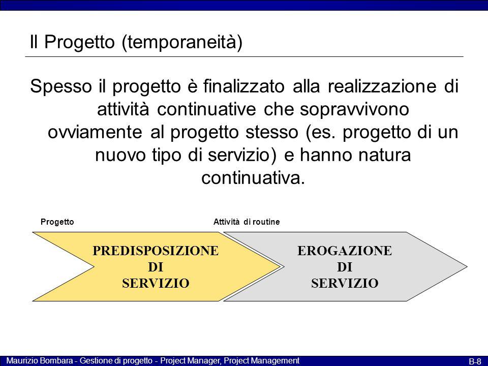Il Progetto (temporaneità)