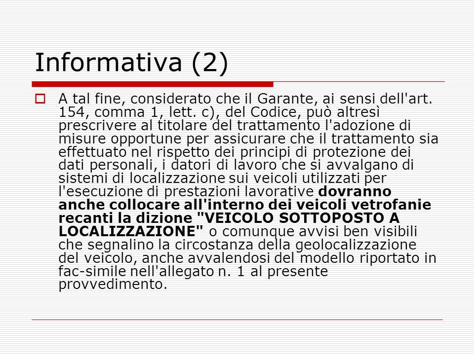 Informativa (2)