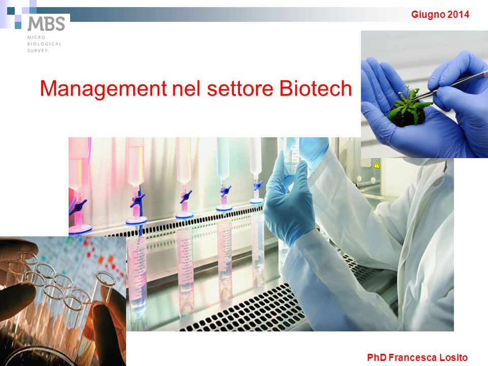 Management nel settore Biotech