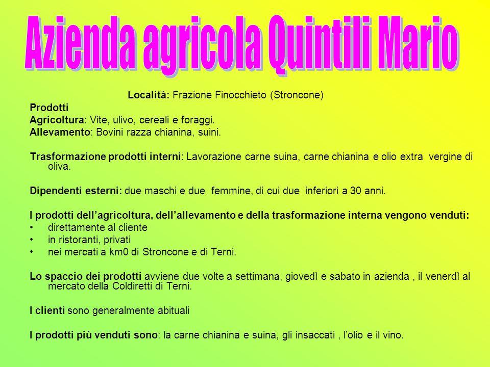 Azienda agricola Quintili Mario