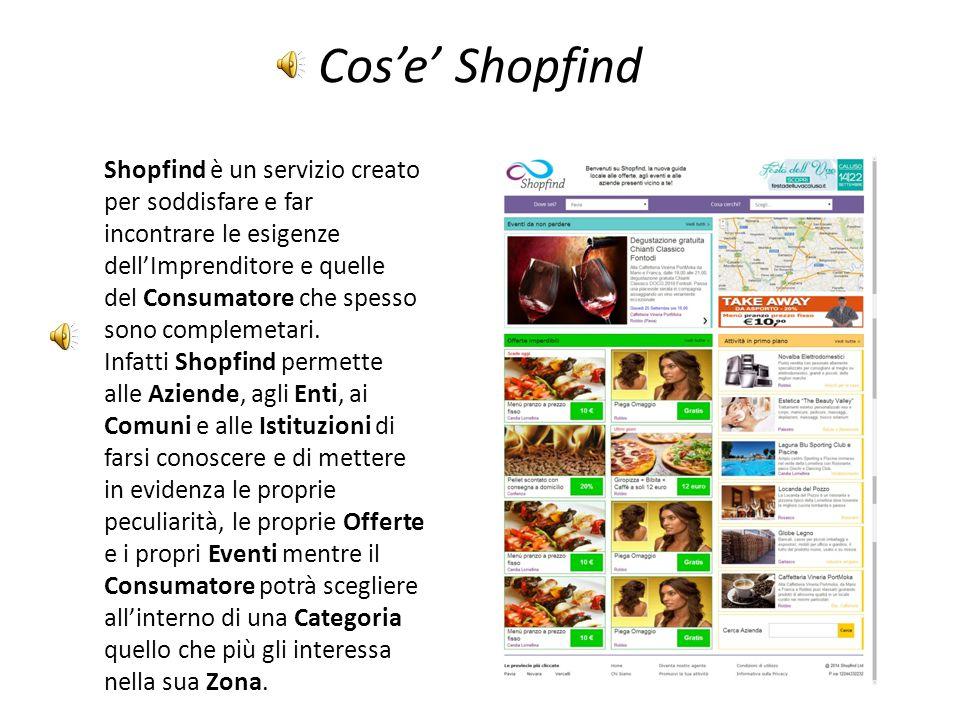 Cos'e' Shopfind