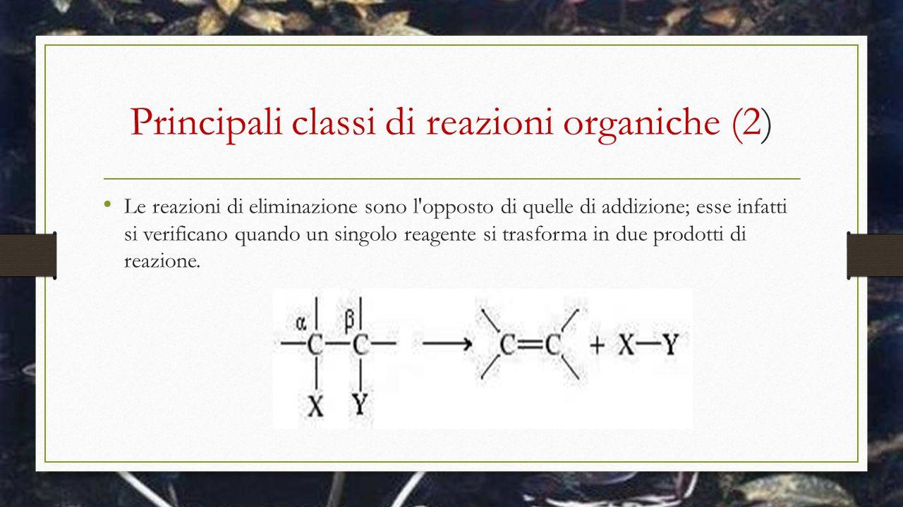 Principali classi di reazioni organiche (2)