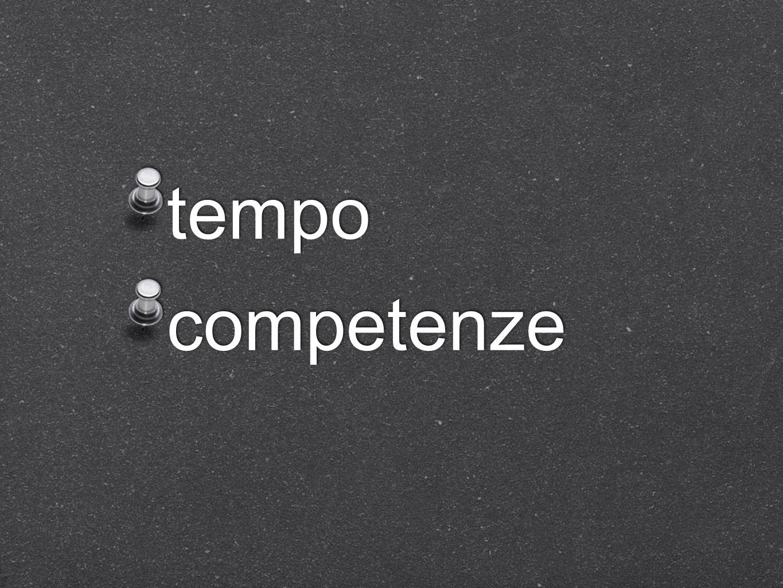 tempo competenze