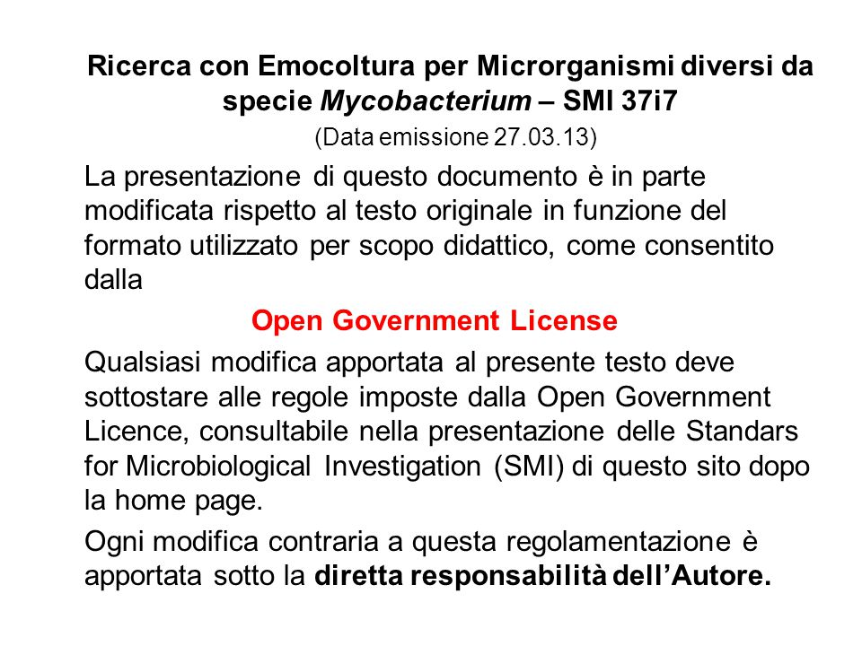 Open Government License