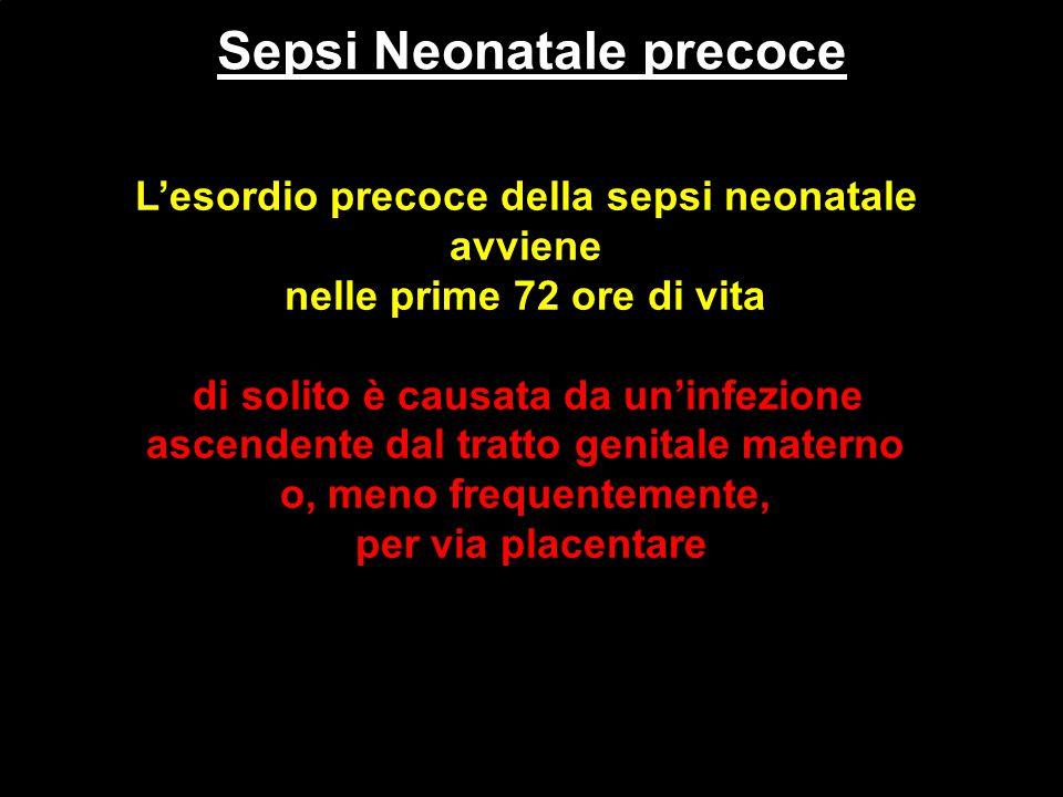 Sepsi Neonatale precoce