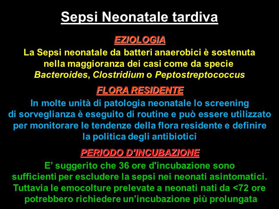 Sepsi Neonatale tardiva