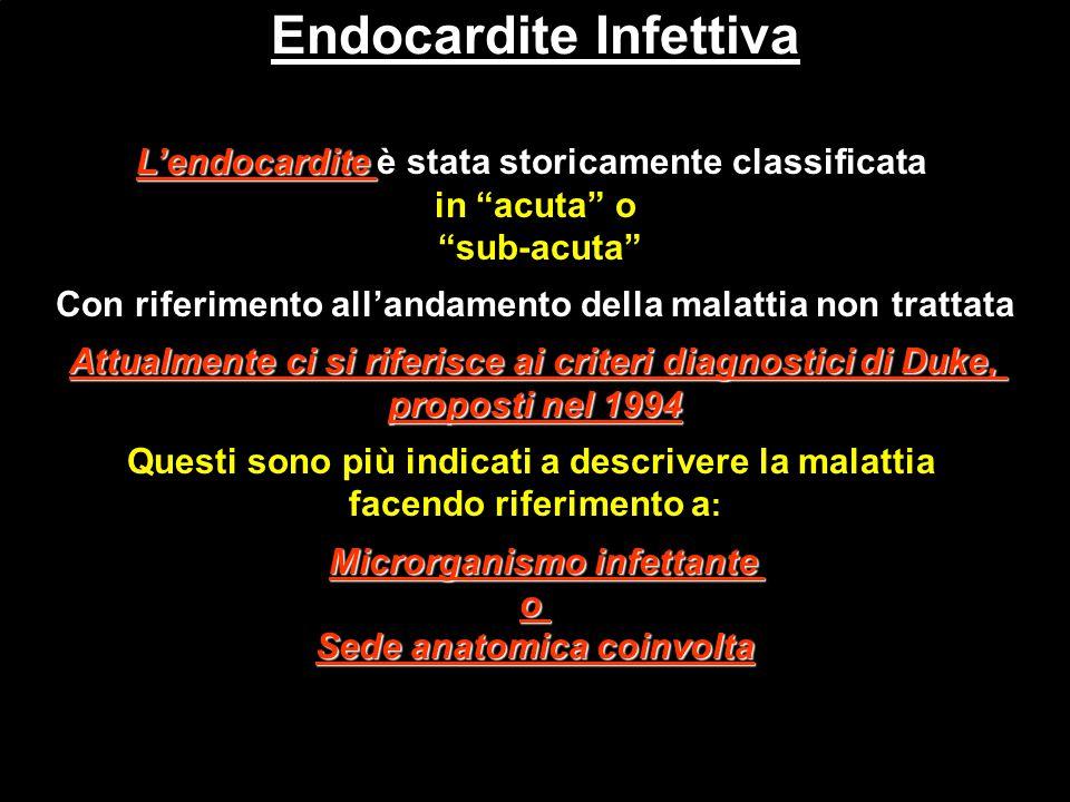Endocardite Infettiva