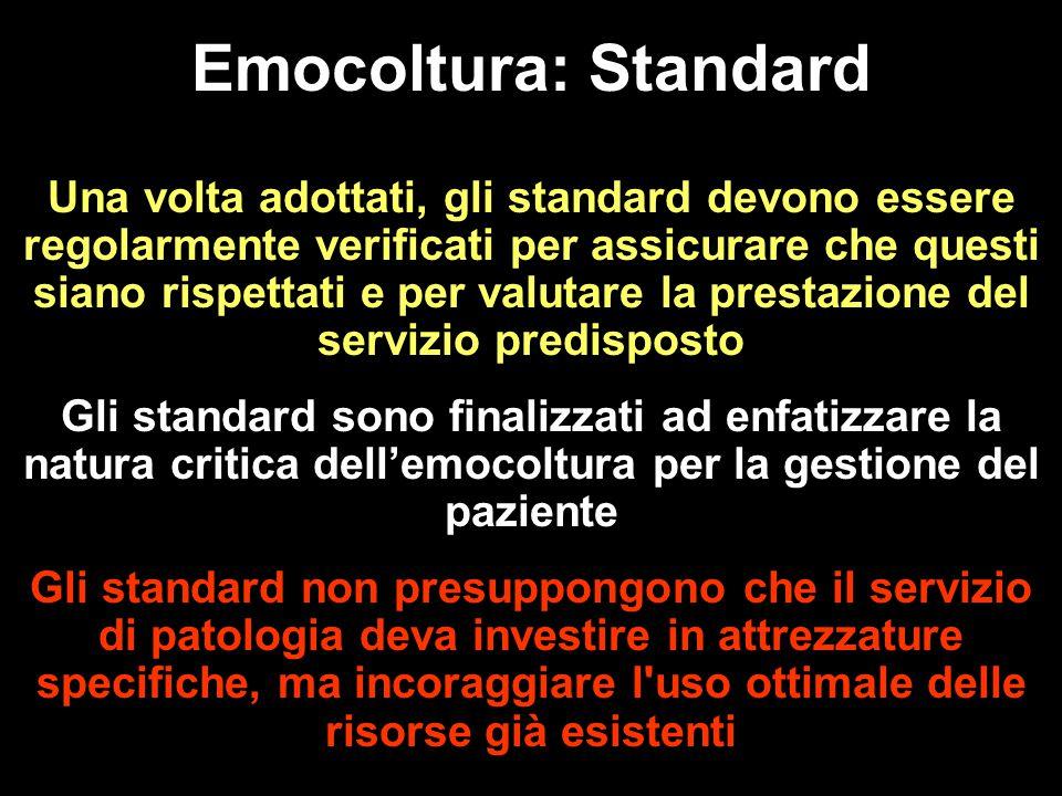Emocoltura: Standard
