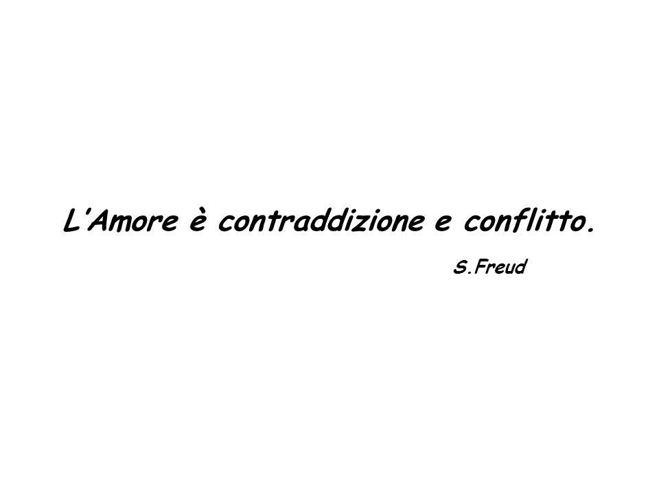 L'Amore è contraddizione e conflitto.