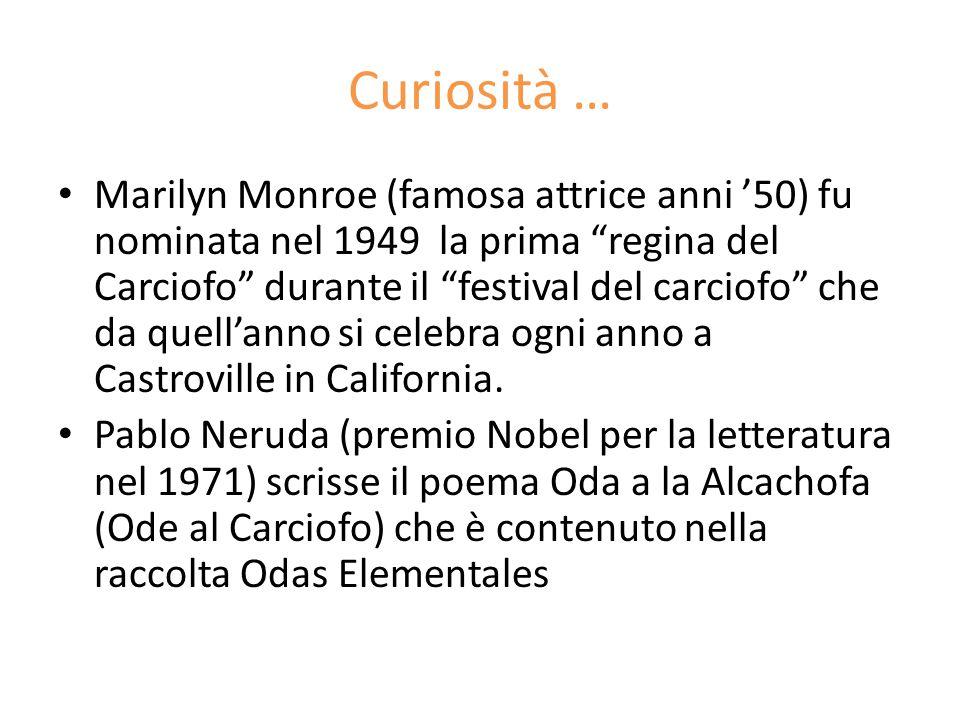 Curiosità …