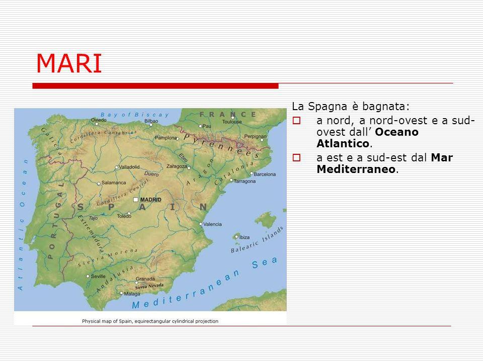 MARI La Spagna è bagnata: