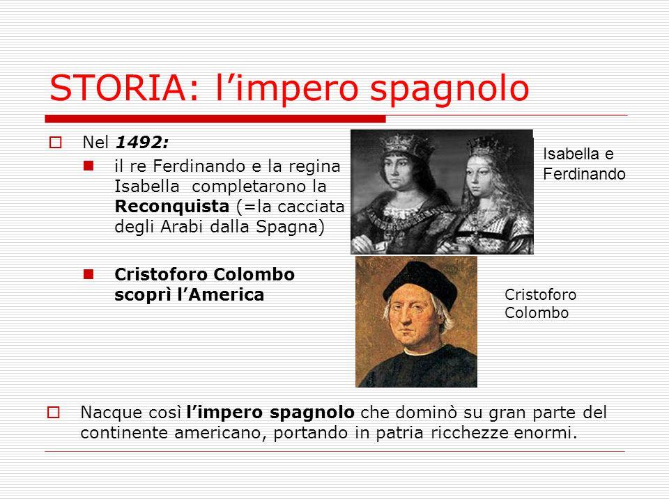 STORIA: l'impero spagnolo