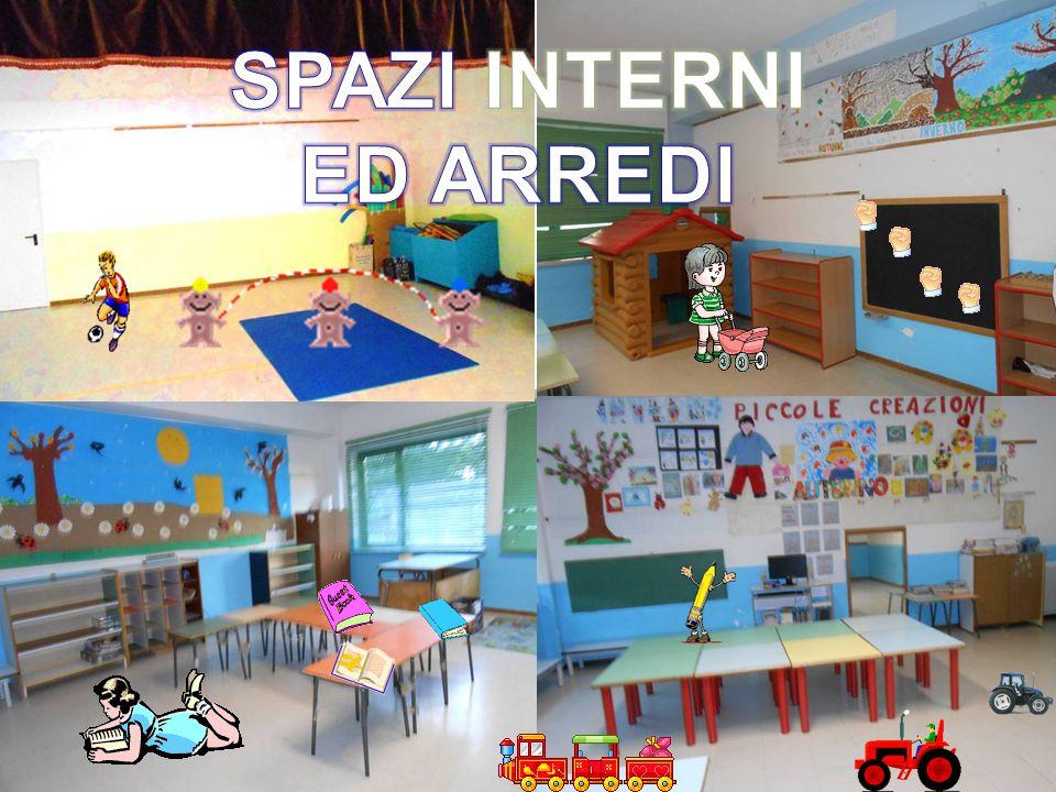 SPAZI INTERNI ED ARREDI
