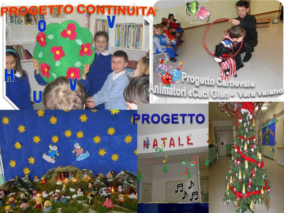 PROGETTO PROGETTO CONTINUITA' Progetto Carnevale