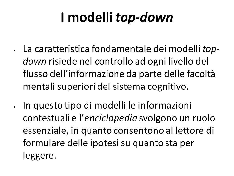 1414 I modelli top-down.