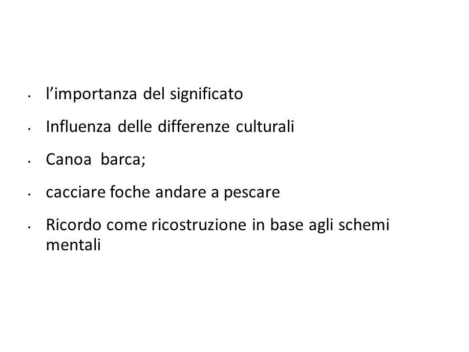 l'importanza del significato Influenza delle differenze culturali