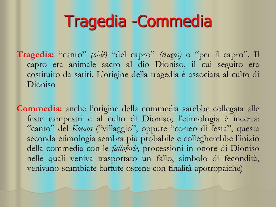 Tragedia -Commedia