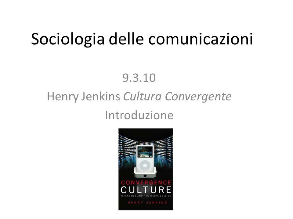 Sociologia delle comunicazioni