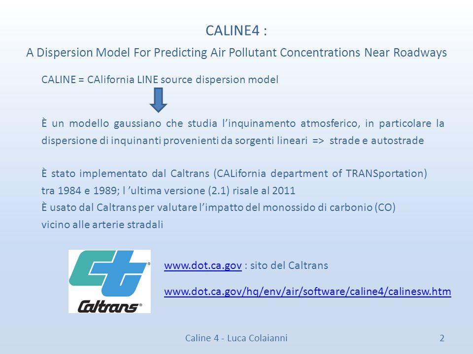 Caline 4 - Luca Colaianni