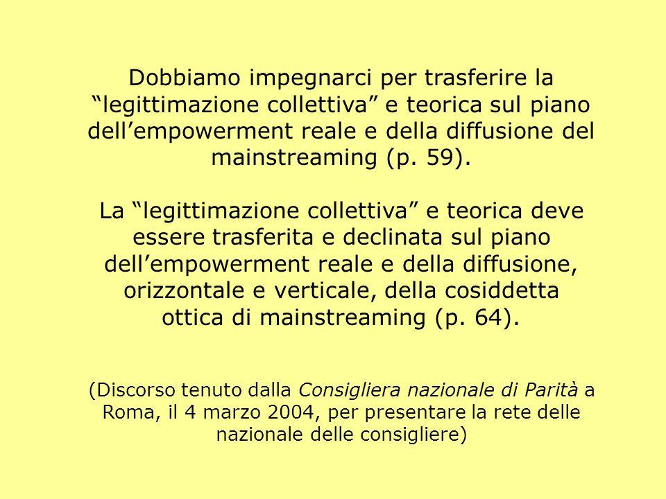 ottica di mainstreaming (p. 64).