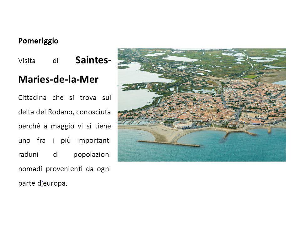 Pomeriggio Visita di Saintes-Maries-de-la-Mer