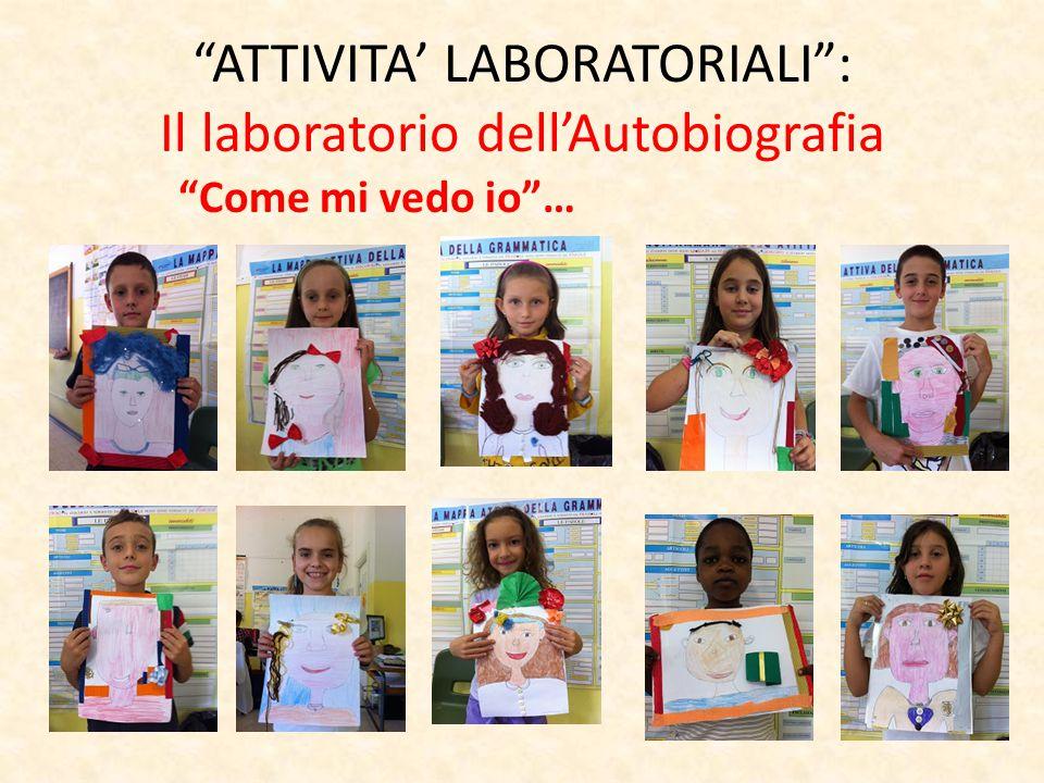 ATTIVITA' LABORATORIALI : Il laboratorio dell'Autobiografia