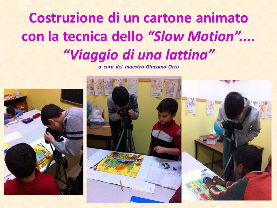 Costruzione di un cartone animato con la tecnica dello Slow Motion