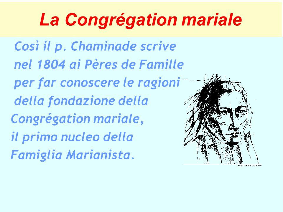 La Congrégation mariale