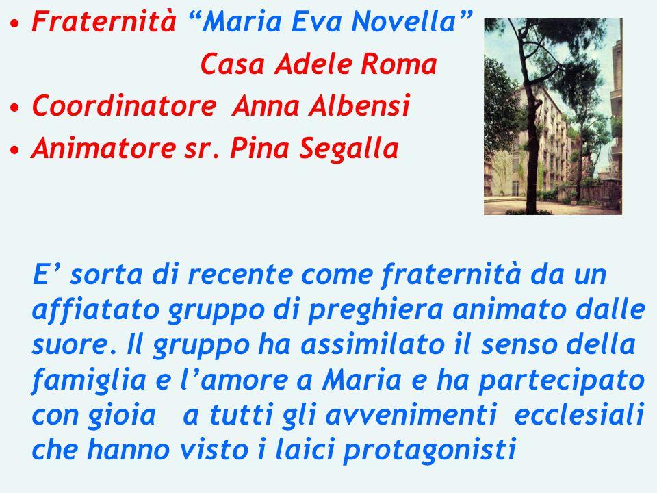 Fraternità Maria Eva Novella