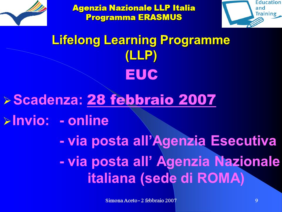 Lifelong Learning Programme (LLP)